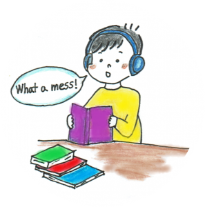 英語を英語のまま理解する、多聴多読
