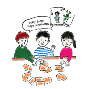 楽しく遊んで英語の語感が身につく、BBカード