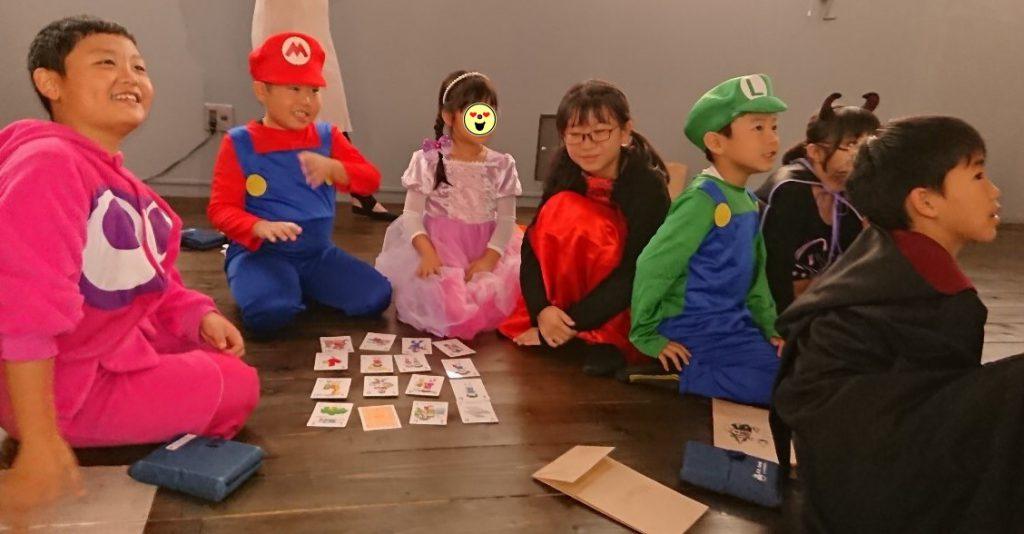 ハロウィンは、子どもたちに人気のイベント