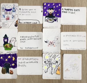 小学生自作の英語カード